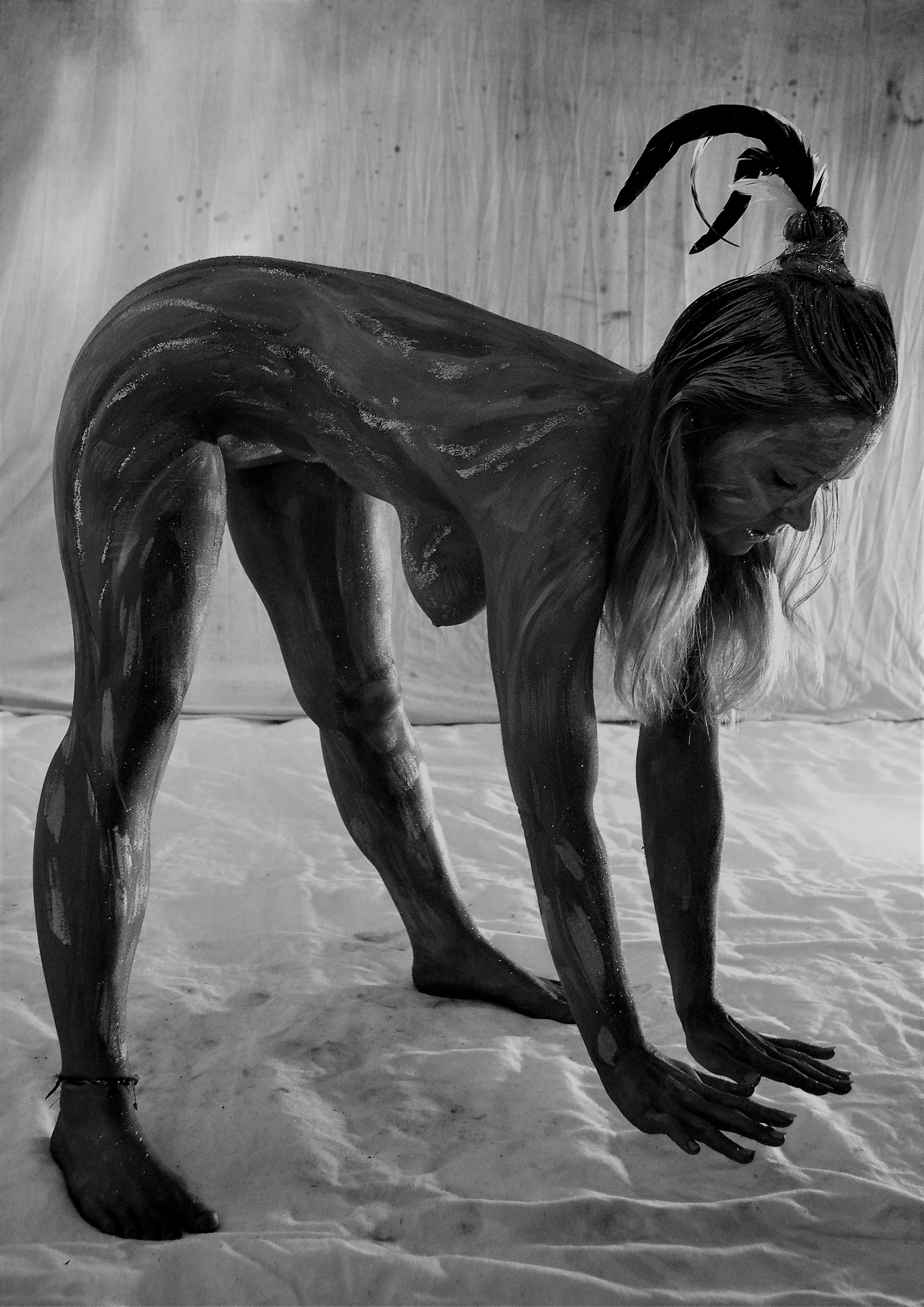 """""""Körpermalerei : alia cutis"""""""